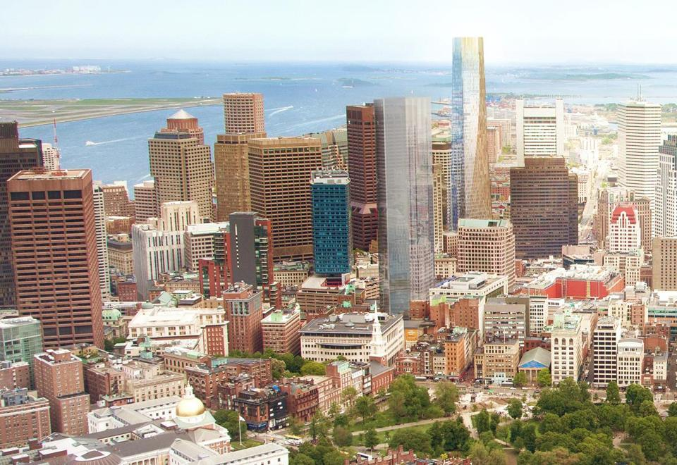 Vying Visions For Winthrop Square The Boston Globe